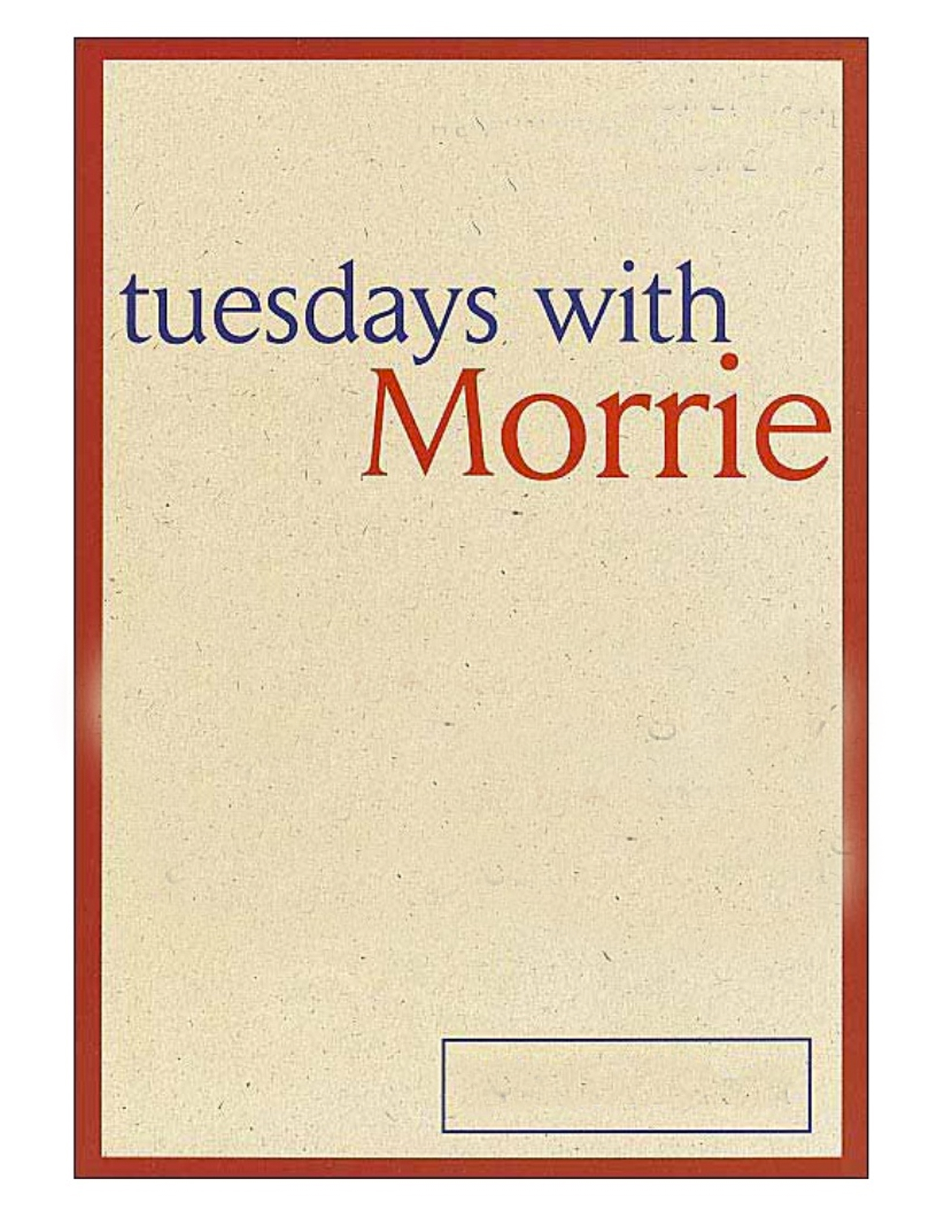 tuesdays with morrie materialism Tuesdays with morrie is a magical chronicle of their time together, through which mitch shares morrie's lasting gift with the world now the best-selling memoir of all time, tuesdays with morrie began as a modest labor of love to help pay some of schwartz's medical bills.
